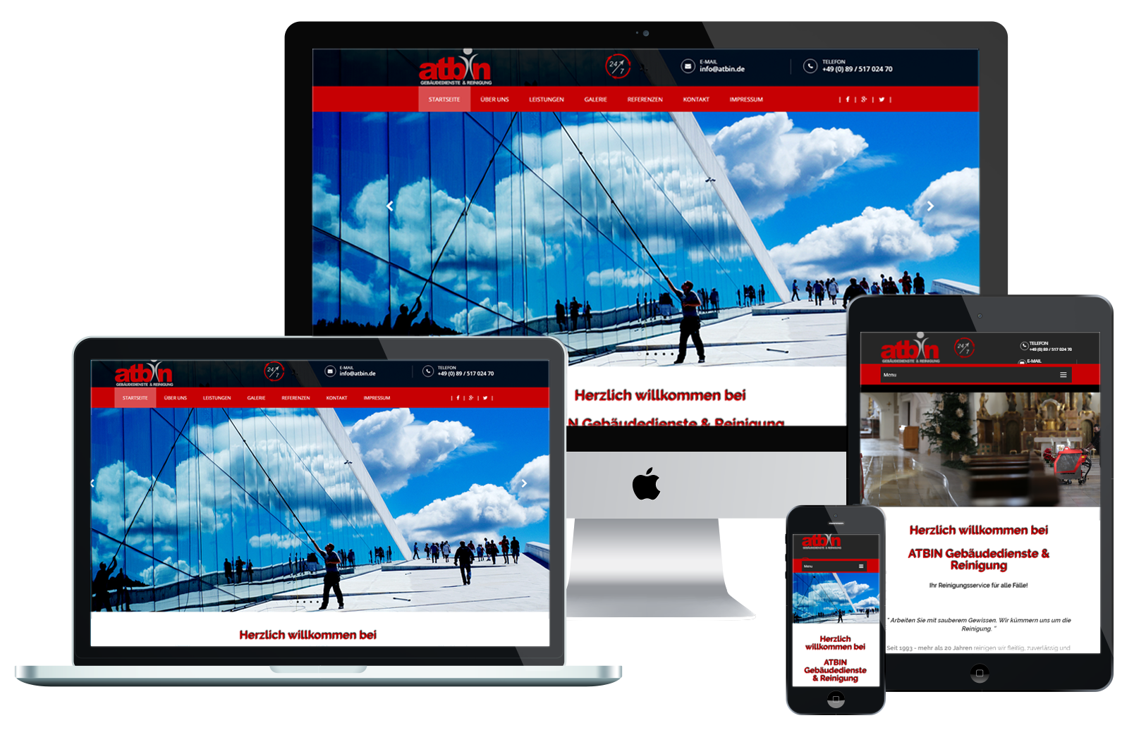 Responsive Webdesign | muc IT systems